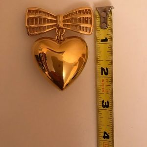 St. John Collection Heart Brooch